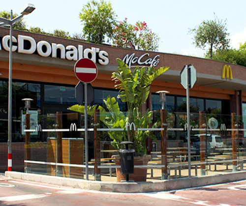 Mc Donald 39 S Parco Commerciale I Portali