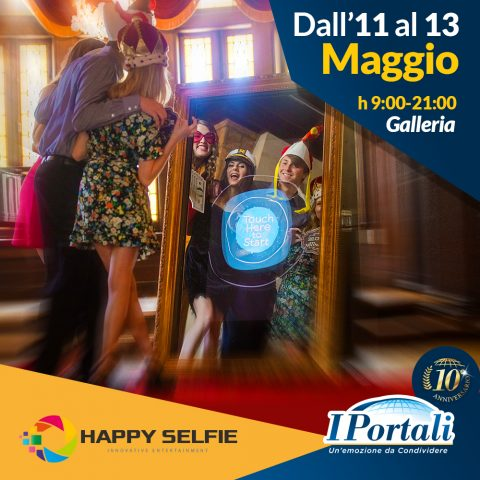 Happy Selfie Magic Mirror